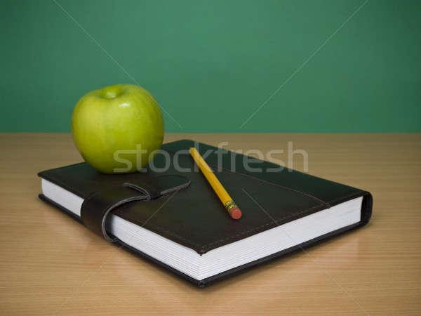 Learning schedule Stock photo © antonprado