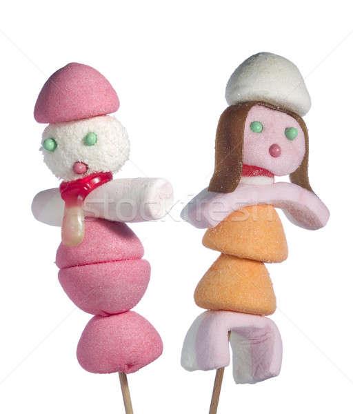 Candy people Stock photo © antonprado