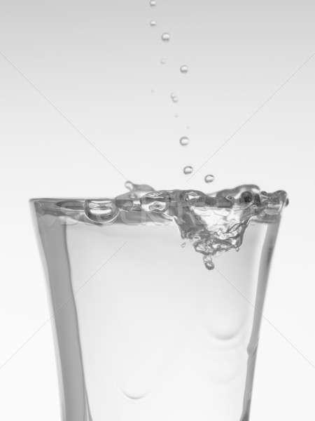 выстрел водка воды падение алкоголя Сток-фото © antonprado