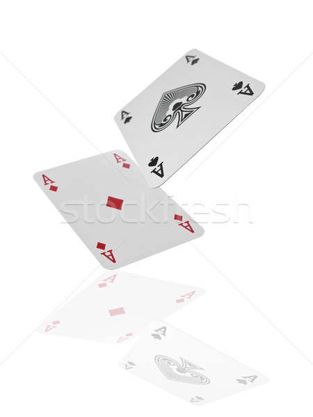 Flying aces Stock photo © antonprado