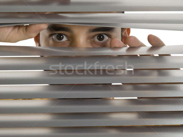 Stock photo: Peeping Tom