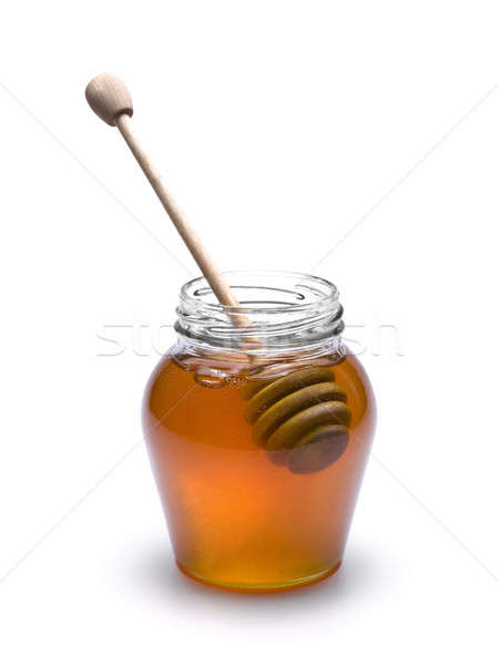 Honey jar Stock photo © antonprado