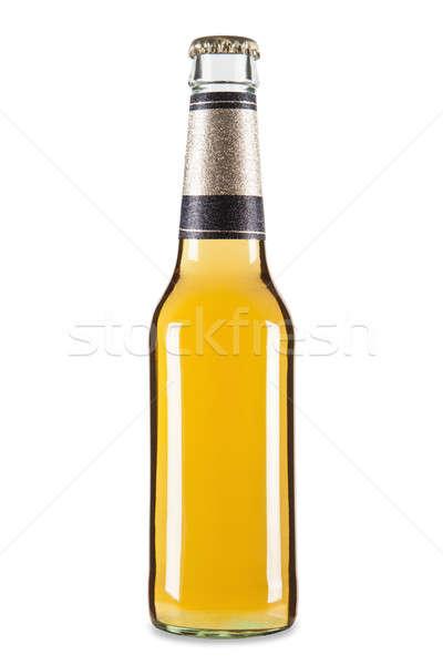 Stock photo: One beer