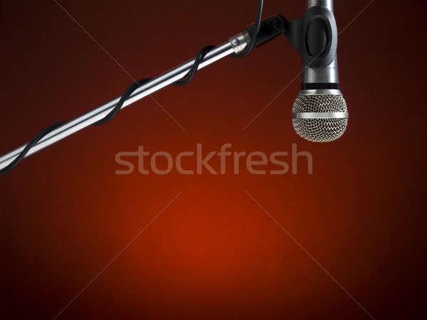Radio mic Stock photo © antonprado