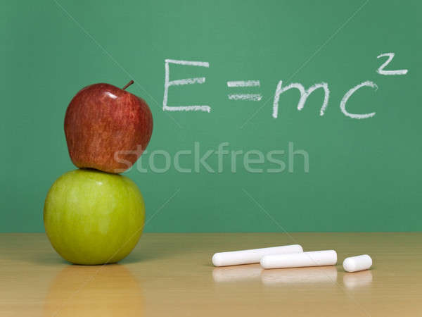 Theory of relativity Stock photo © antonprado