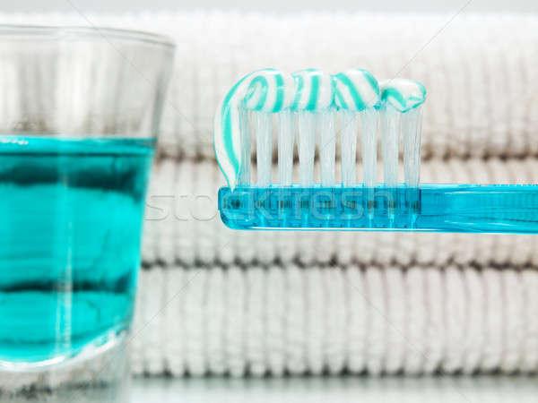 Blue morning Stock photo © antonprado