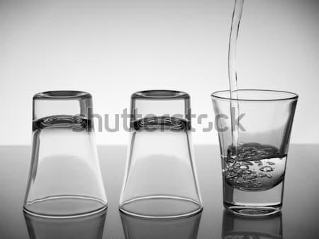 Three shots of vodka Stock photo © antonprado
