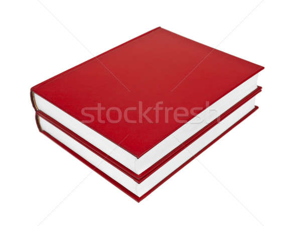 Stock photo: Red books