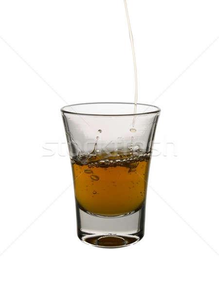 Atış viski beyaz bar içmek Stok fotoğraf © antonprado