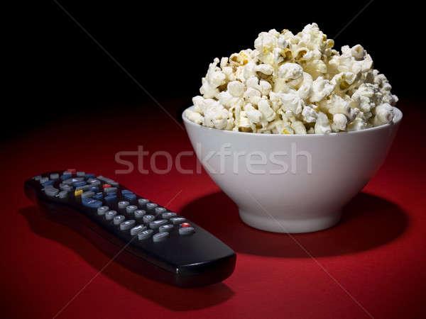 Movies at home Stock photo © antonprado