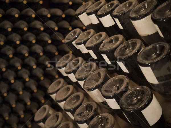 Wine bottles Stock photo © antonprado