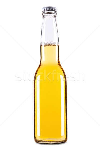 Piwa odizolowany biały świetle Zdjęcia stock © antonprado