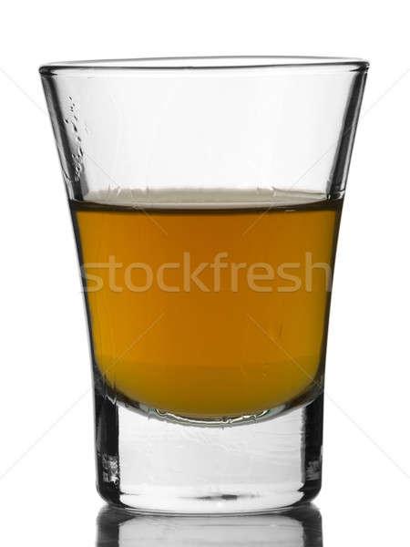 Atış viski beyaz bar içmek alkol Stok fotoğraf © antonprado