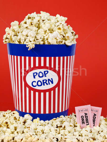 Stock photo: Movie for two