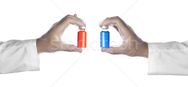 Two vials Stock photo © antonprado