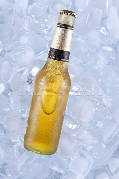 Jeden zimno piwa lodu Zdjęcia stock © antonprado