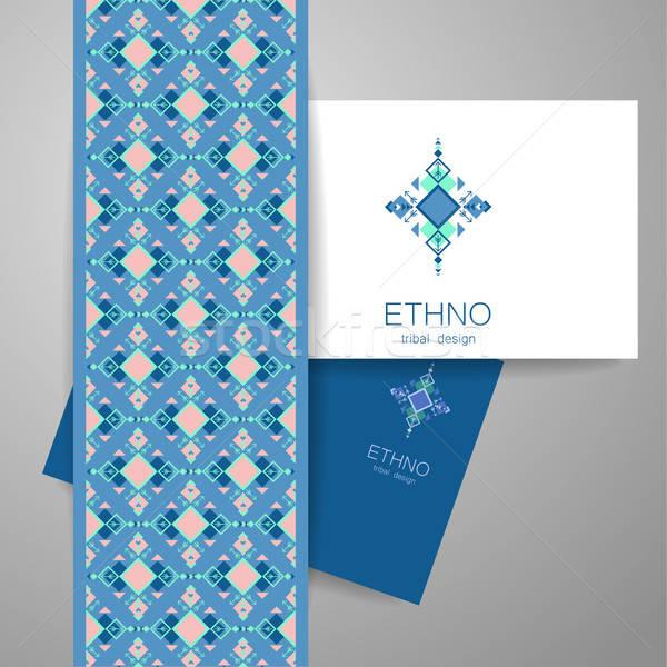 племенных дизайна корпоративного личности шаблон логотип Сток-фото © antoshkaforever