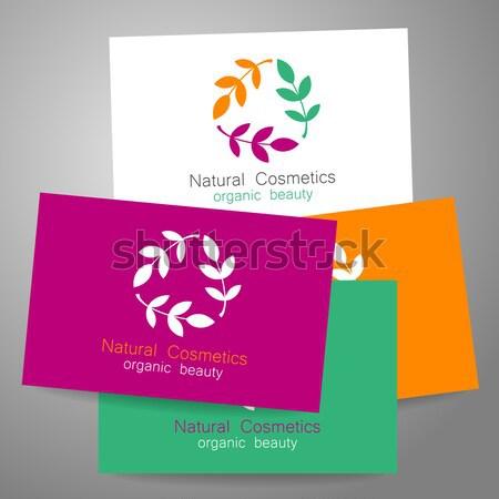 Сток-фото: успех · команда · шаблон · логотип · визитной · карточкой · дизайна