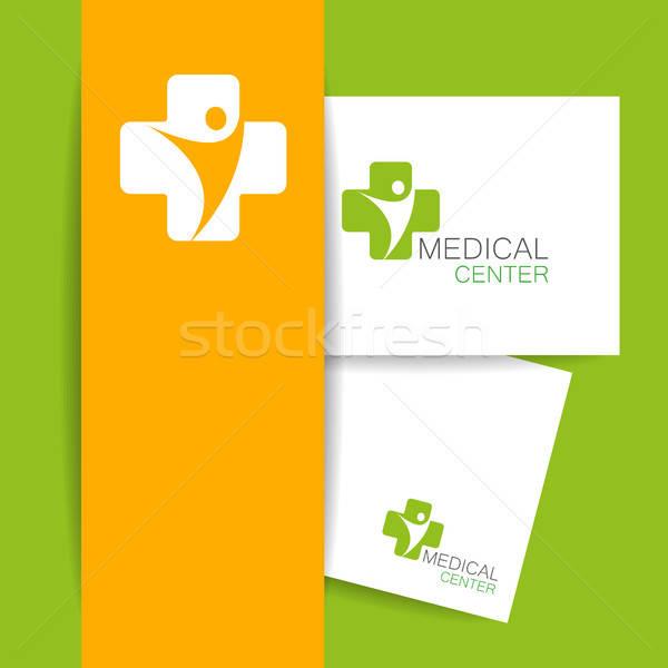 medical center logo template Stock photo © antoshkaforever