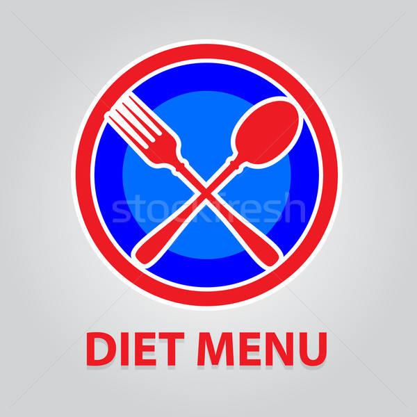 diet-menu Stock photo © antoshkaforever