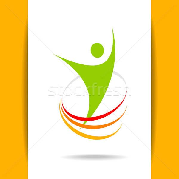 成功 能源 模板 標誌設計 符號 優勝者 商業照片 © antoshkaforever