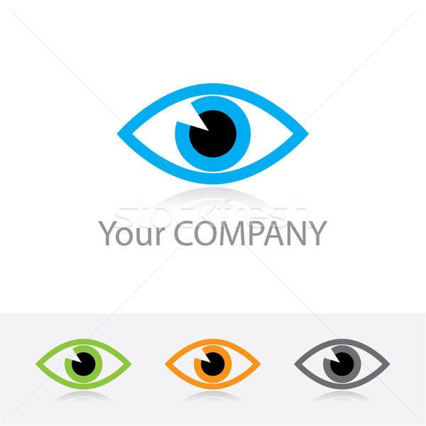 光學 模板 向量 企業 標誌 顏色 商業照片 © antoshkaforever