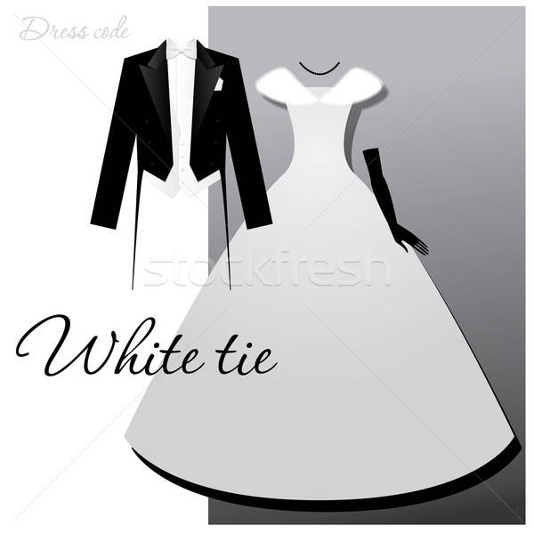 Dress code branco amarrar masculino luz colete Foto stock © antoshkaforever