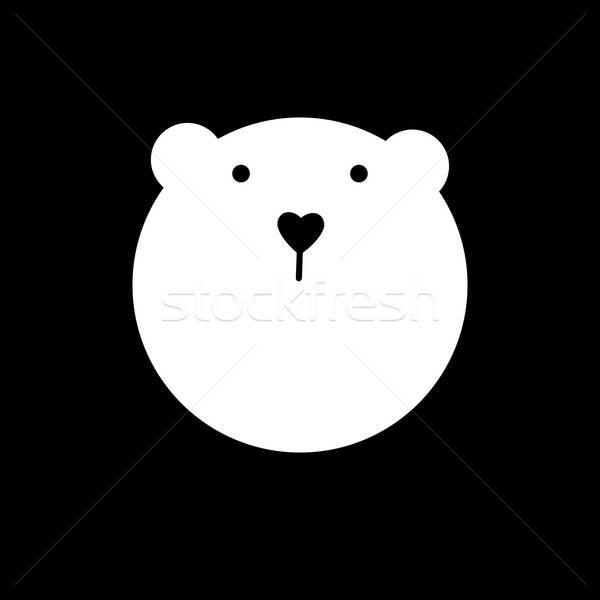 bear animal template Stock photo © antoshkaforever