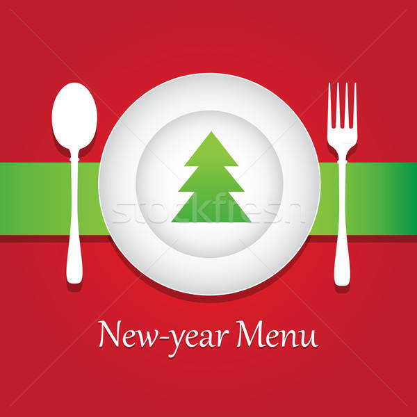 New-year Menu Stock photo © antoshkaforever