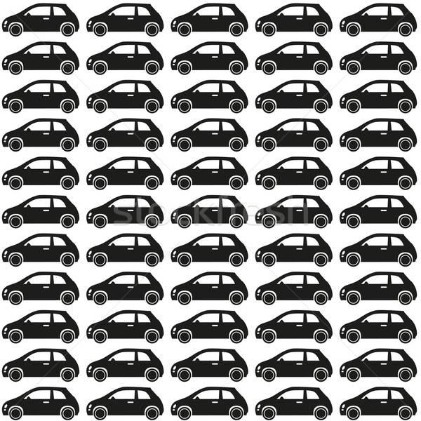 Сток-фото: автомобилей · шаблон · бесшовный · вектора · шаблон · дизайна