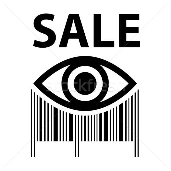 знак продажи штрих торговых продажи купить Сток-фото © antoshkaforever