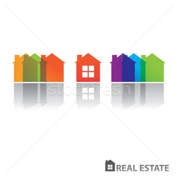 房地產 設計 向量 業務 家庭 因特網 商業照片 © antoshkaforever