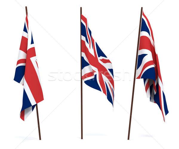 Flag of United Kingdom Stock photo © anyunoff