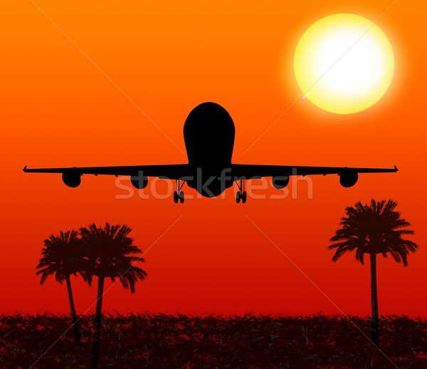 Plane Stock photo © anyunoff