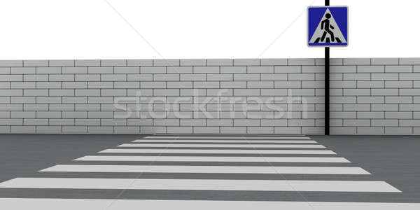 Crosswalk Stock photo © anyunoff