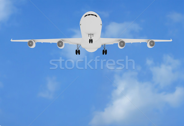Stock photo: Plane