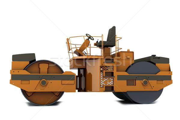 Paver machine Stock photo © anyunoff
