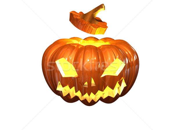 helloween pumpkin Stock photo © anyunoff