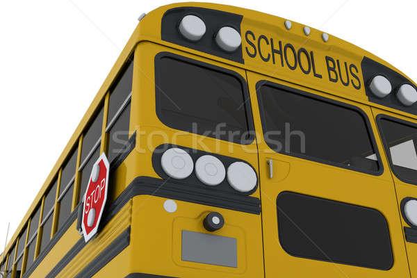 School bus Stock photo © anyunoff