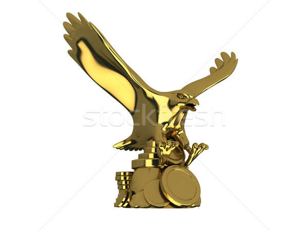 Golden eagle Stock photo © anyunoff