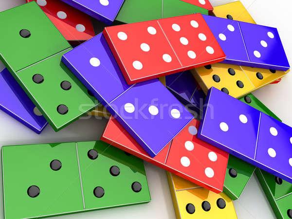 Domino Stock photo © anyunoff