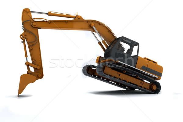 Excavator Stock photo © anyunoff