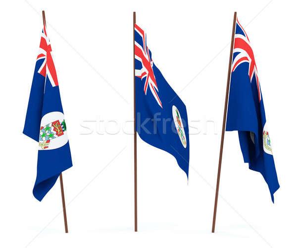 Flag of Cayman Islands Stock photo © anyunoff