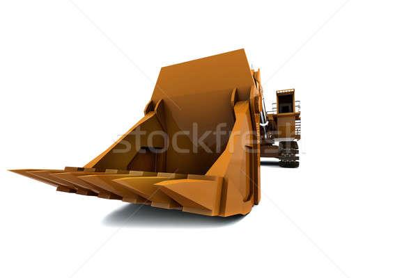 Сток-фото: оранжевый · грязные · изолированный · белый · мнение