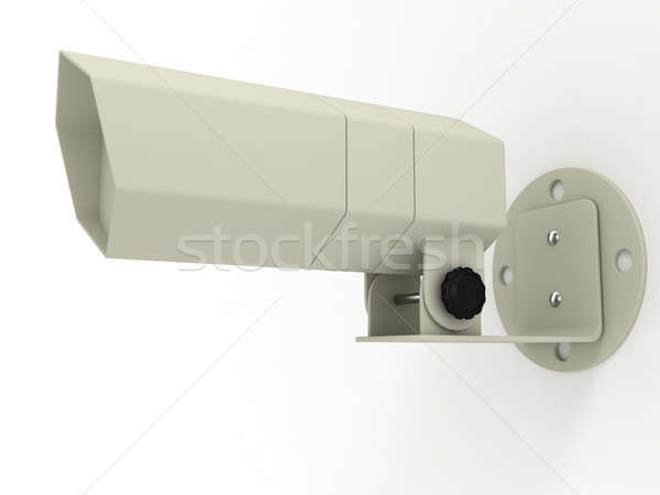 Vídeo observação câmera isolado branco tecnologia Foto stock © anyunoff