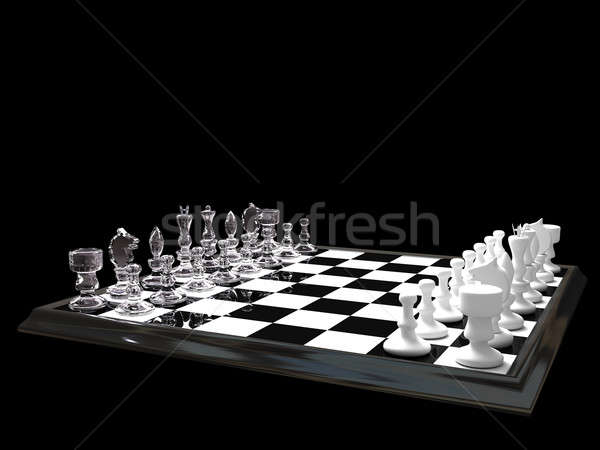 Chess board Stock photo © anyunoff
