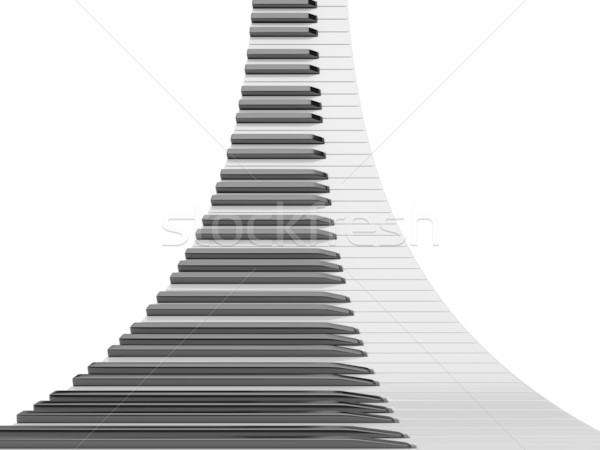 Piano keyboard Stock photo © anyunoff