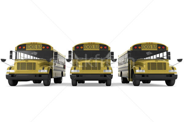 School buses Stock photo © anyunoff
