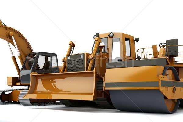 Road machinery Stock photo © anyunoff