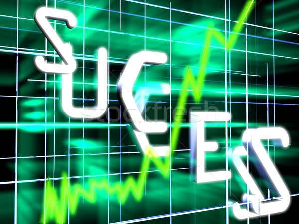 Foto stock: Stock · diagrama · verde · futurista · oscuro · mundo